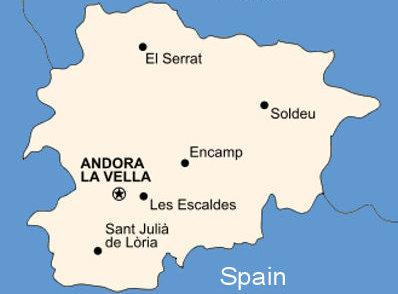 Gửi - Vận chuyển hàng đi Andorra bằng đường biển, hàng không