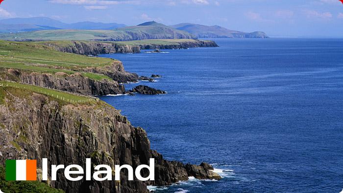 Gửi vận chuyển hàng đi Ireland bằng đường biển đường hàng không