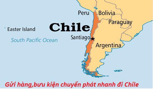 Gửi vận chuyển hàng đi Chile bằng đường biển - hàng không